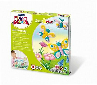 Staedtler 8034 10 LY - Fimo kids Form & Play Butterfly, Level 1 [Spielzeug]