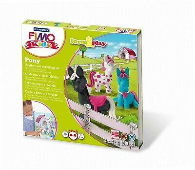 Staedtler 8034 08 LY - Fimo kids Form & Play Pony, Level 2 [Spielzeug]