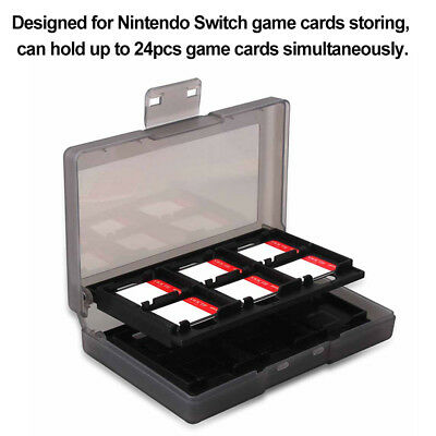 DI- JN_ 24 In 1 Portable Game Card Case For Nintend Switch Shockproof Hard Shell