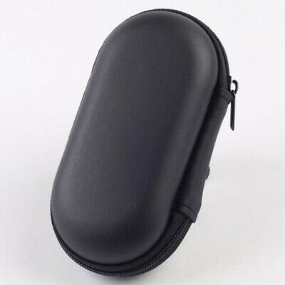 DI- Por In Ear Earphone Headphone Storage Bag USB Cable Case Holder Organizer Be