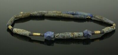 Ancient Egyptian Lapis Bead Necklace - 1700Bc