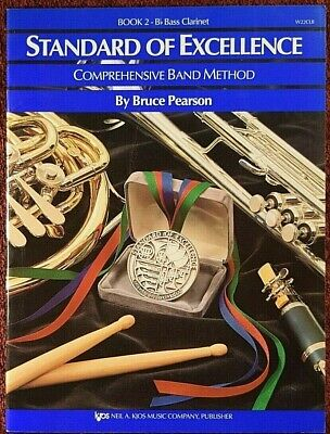 Book 2 - Bb BASS Clarinet Standard of Excellence Comprehensive Band Method OS/N