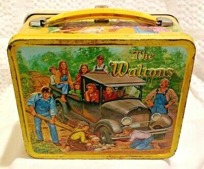 "Very Rare 1973 ""The Waltons""  Metal Lunchbox With Good Thermos!"