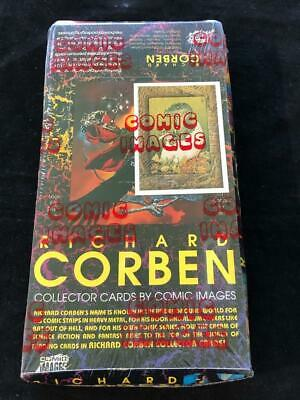 Richard Corben Trading Cards Sealed Box Comic Images
