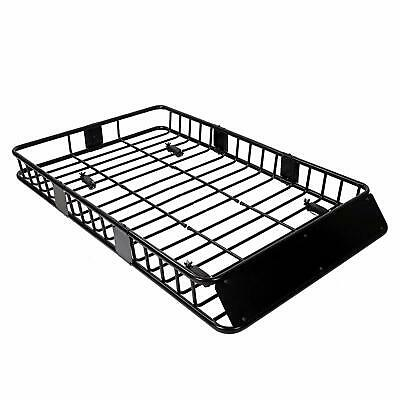 64'' Universal Roof Rack w/Extension Cargo SUV Top Luggage Carrier Basket Holder