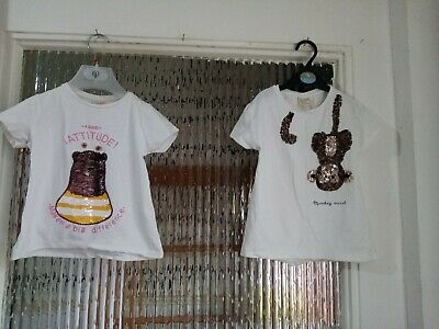 Preowned Girls Bundle Tops For Ages 4 - 6 years