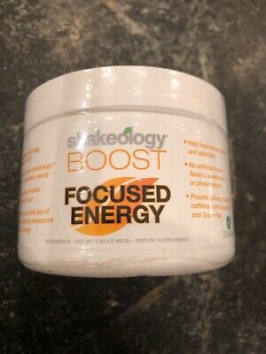 Shakeology Boost Focused Energy New Beachbody  Free Shipping!