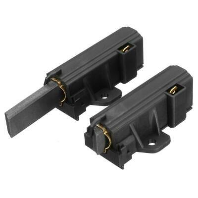 2x Carbon Brushes For  Washing Machine Electrolux Zanussi With Sole Motor