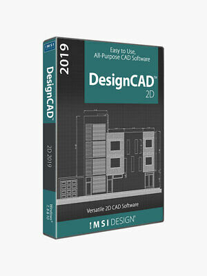 DesignCAD 2D 2019 - Digital Download