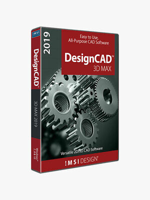 DesignCAD 3D Max 2019 - Digital Download