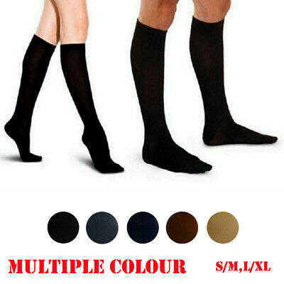 Ladies Knee Stockings Compression Supports Edema Varicose Veins Tired nylon Sock