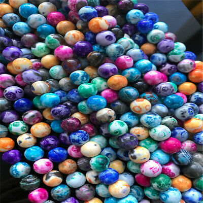 8-12mm Natural Round Fire Agate Loose Beads Diy Accessories Top Healing Lots