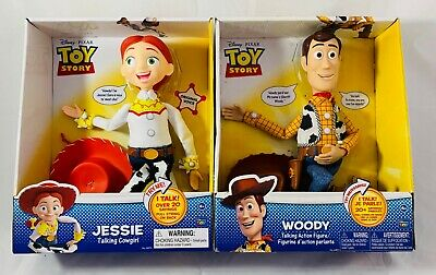 Toy Story Woody Talking Action Figure & Jessie Talking Cowgirl 2PCS