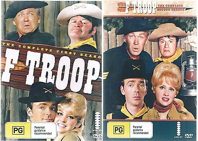 F Troop - The Complete Seasons 1 & 2  Two box Sets - 12 Disc ( New And Sealed)