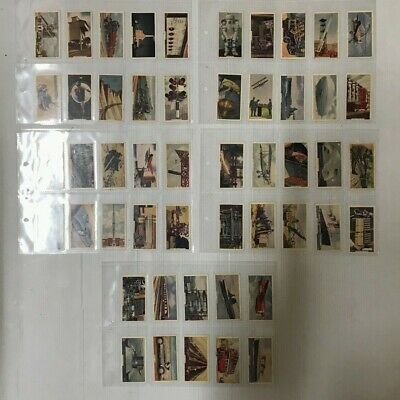 Cigarette Card Set Of 50 Godfrey Phillips Issues This Mechanised Age