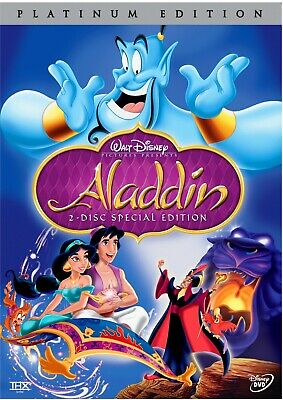 Aladdin (DVD, 2004, 2-Disc Set, Platinum Edition) NEW!