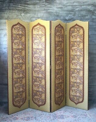 Antique Dressing Screen Room Divider Large - Delivery Available