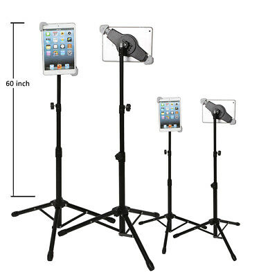360 Rotating Foldable Tripod Stand Mount Holder For Ipad 1 2 3 4 Air Adjustable