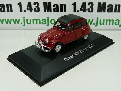 ARG6G Voiture 1/43 SALVAT Autos Inolvidables : Citroen 3CV Especial (1972)