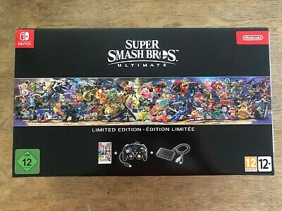 Empty Box - Super Smash Bros Ultimate Limited Edition Nintendo Switch Brothers