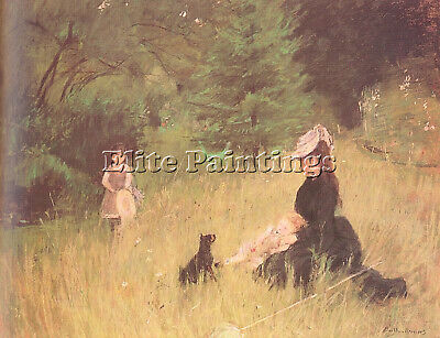 Morisot13 Artist Painting Reproduction Handmade Oil Canvas Repro Wall Art Deco