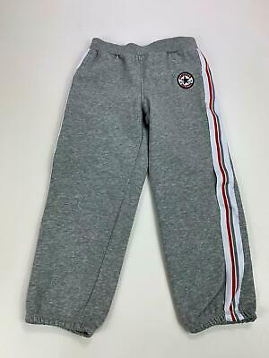 Boys Converse All Star Grey Tracksuit Jogging Bottoms Trousers Age 4/5 Years