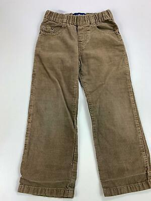 Boys Timberland Brown Corduroy Casual Straight Trousers Size Kids Age 4 Years