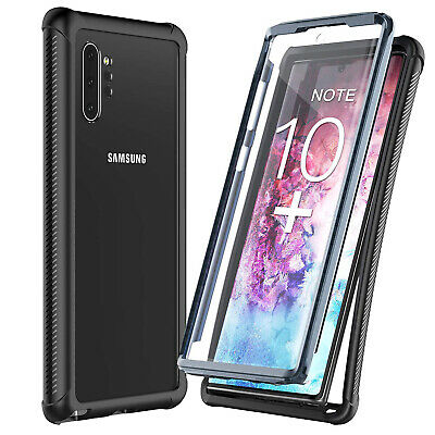 For Samsung Galaxy Note 10+ Plus Case Shockproof Waterproof w/ Screen Protector
