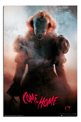 """LAMINATED IT Chapter 2 Come Home Poster Officially Licensed 24X36""""   UK Seller"""