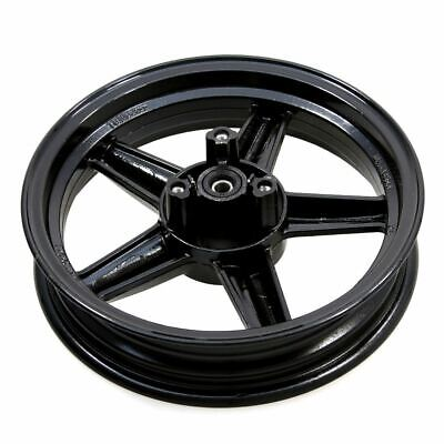 Front Wheel Complete With Bearings & Seals in Black