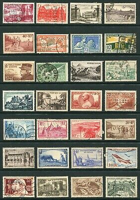 France - collection of 50x different good quality stamps - as shown - CN232