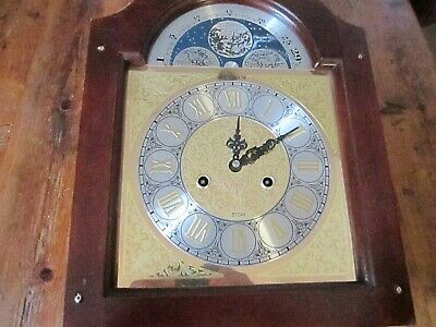 Vintage Grandfather Dial And Movement In Good Working Order