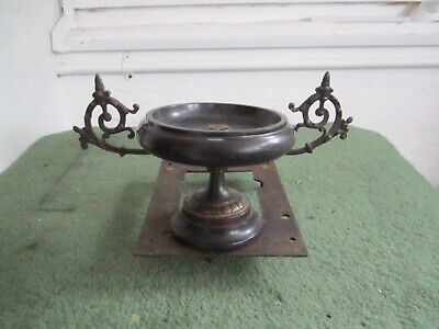 Antique Top Crown For Slate Clock In Very Good Order.