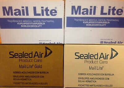 Mail Lite / Lites Padded Envelopes Bags 'All Sizes' +24H Courier White Or Gold