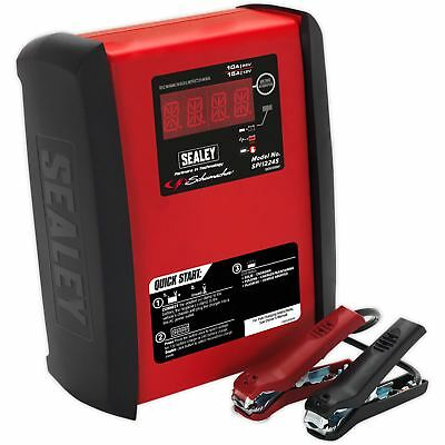 Sealey Intelligent Vitesse Charge Chargeur Batterie 15Amp 12V/10Am P 24V