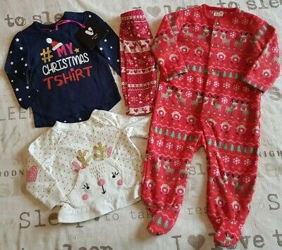 Girls Christmas Bundle 3-6 Months 1 New With Tags