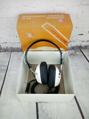 Hitachi 1974 Hi-Fi Stereo Headphone HD-55 Retro Vintage Great Authentic sound