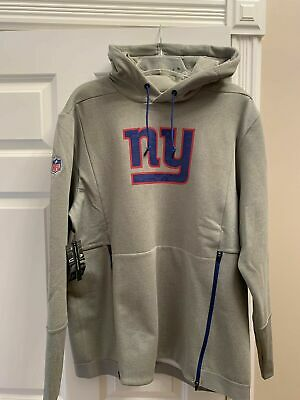 new arrival 4f4d8 55cfc NIKE NEW YORK Giants Gray Performance Vapor Vented Player ...