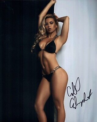 COLLEEN ELIZABETH Hand Signed Hot SEXY Model 8x10 Photo IN PERSON Autograph