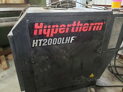 Hypertherm HT2000LHF Plasma power supply, cable, torch parts AND Burny 5 CNC!!