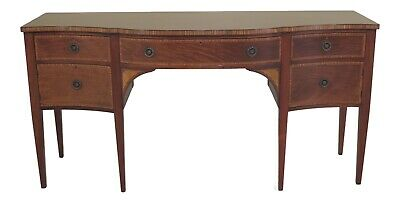 47418EC: Vintage 1930's Federal Style Inlaid Mahogany Sideboard