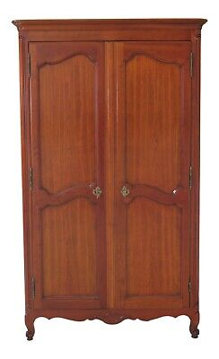 47834EC: KINDEL Classic Cherry French Louis XV Style Bedroom Armoire