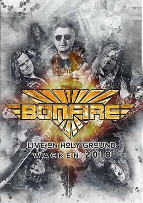 Bonfire - Live On Holy Ground-Wacken 2018 Dvd New+