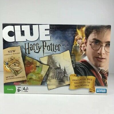 CLUE: Harry Potter Edition Secrets of Hogwarts 2008 Complete Very Good Condition