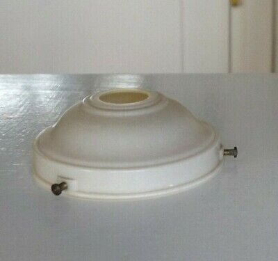 Vintage Art Deco Cream Bakelite Gallery for Light Lamp Fitting 11cm