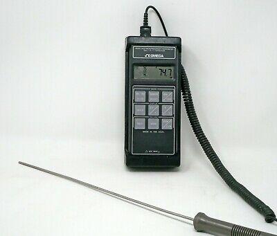 OMEGA HH-99A-J THERMOCOUPLE Digital Thermometer- T243