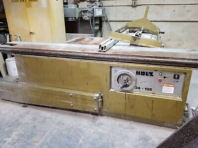 Holz 34-126 Sliding Table Saw