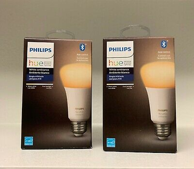 2 x Philips HUE Kerze Color and White Ambiance 16Mio Farbe E14 6W Kerzenlampe