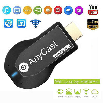 Anycast HDMI WIFI Display Dongle Receiver Streaming TV Stick Plug Wireless XS