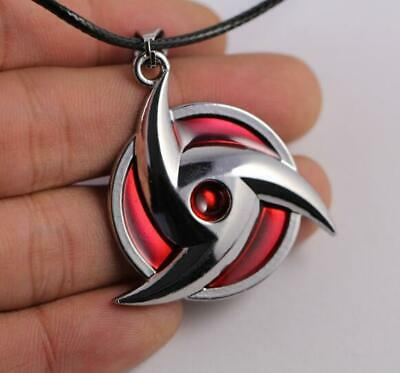 Anime Chic Japan Anime Naruto Cosplay Uchiha Kakashi Syaringan Pendant Necklace
